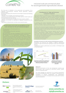 Biorefinery approach